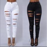 Новые джинсыы способа пригодности джинсыов женщин джинсовой ткани конструкции