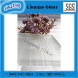 Ultra Clear escarchado vidrio laminado adecuado para la pared de partición