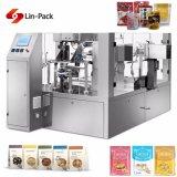 Máquina de enchimento dos doces materiais dobro do gelo e de selagem de empacotamento