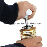 Registrabile multifunzionale apri del vaso per 1-4 pollici di latta della bottiglia, torsione del dispositivo di rimozione del coperchio della guarnizione dell'acciaio inossidabile fuori dalla vite che ricopre Esg10414