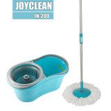 Lavette magique de nettoyage de rotation de la lavette 360 de pressurage à la main de Joyclean