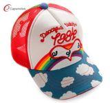 Nueva promoción personalizada de béisbol de Ocio la tapa de malla con bordados diseño