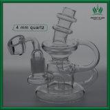 5 de duim ontruimt Gordo van de Installatie van de SCHAR de Wetenschappelijke Pijp van de Recycleermachine van het Glas Klein