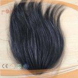 Cheveux humains pleine main liée dentelle Hairpiece de Base (PPG-L-0152)