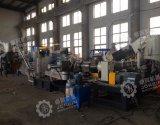 HDPE LDPE PE pp de Nylon Extruder die van het Stadium van de Film Dubbele Machine pelletiseren