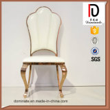 Классическая нержавеющая сталь золота Rose обедая стул