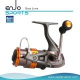 Baß-Luna-extremes leichtes Baß-Fischen-spinnendes Bandspule-Salz u. Süßwasser Hpb Kugellager, die Bandspule fischen