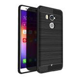 Силиконовый TPU из углеродного волокна для телефона HTC U11+ Plus