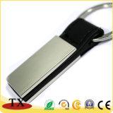Кожа Keychain металла логоса промотирования высокого качества
