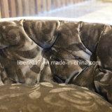 애완 동물 공급 커피 색깔 형식 디자인 연약한 온난한 애완 동물 침대 견면 벨벳 개 고양이 침대