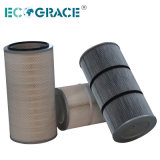 Filtro industriale dalla cartuccia di filtro dalla polvere