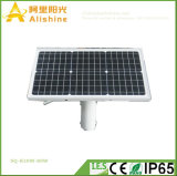 6m 20W 마을 프로젝트를 위한 LED에 의하여 반 분리되는 태양 가로등 IP65