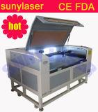 Máquina de estaca do laser com a câmera do CCD 3.2megpixel para indústrias da marca registrada