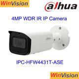 OEM Dahua mini extérieur CCTV Bullet H265 60m 4MP caméra IP Poe IR avec la carte SD Ipc-Hfw4431t-ase