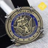 Medaglie su ordinazione dei militari del metallo dei nastri promozionali all'ingrosso di alta qualità
