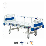 수동 운영한 2개의 기능 수동 병상 참을성 있는 침대 (HF-828A)