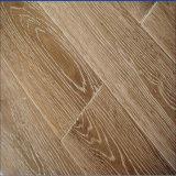 Cepilla&Blanco ahumado aceitado fabricado en madera de roble Piso/Piso de madera y piso de madera