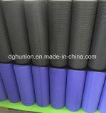 Rolo preto redondo high-density da espuma do logotipo feito sob encomenda/rolo da ioga