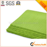 Documento de embalaje no tejido de la tela No. 3 verde