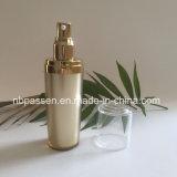 Acryllotion-Flasche des Spitzengold50ml für das Skincare Verpacken (PPC-NEW-188)
