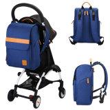 Детский Back-Open Diaper Bag пеленок рюкзак с изменением блока&Stroller ремешка