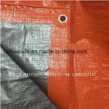 costruzione concreta arancione 96GSM che cura coperta