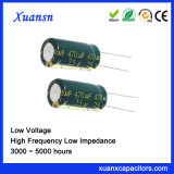 25V Condensatoren van de Impedantie van 470UF de Lage Audio Elektrolytische