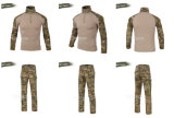 Service OEM Three-Sand Camo Outdoor Training CS Costume d'entraînement sportif
