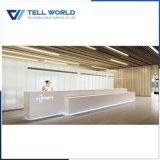 Contador comercial del cajero del café del restaurante LED del diseño de 150 clases para la venta, diseño moderno del escritorio de cajero del café