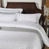 Literie blanche ordinaire réglée d'hôtel de literie de coton