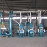 Fabrik-Lieferanten-automatische Mais-Getreidemühle-Maschinerie