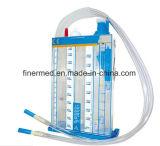 Cathéter thoracique d'évacuation de poitrine médicale