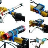 자전거 자전거 실리콘 동점 결박 붕대 섬광 빛 전화 악대 홀더 마운트