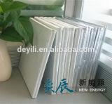 Los paneles de la prueba del aislante y del sonido del vacío de la pared y del suelo del edificio