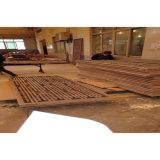 純木フレームの木製のベニヤの終わりの耐火性のホテルの部屋のドア(SD-05)