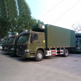 Sinotruck HOWO 8X4 6X4 4X2 camión frigorífico con alta calidad