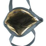 Strandtote-Einkaufen-Handtaschen-Segeltuch-Schulter-beiläufiger Frauen-Beutel