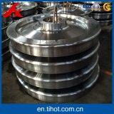 CNCのトレインのための機械化の部品の一体鋳造の車輪