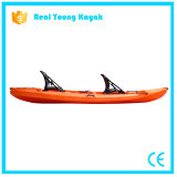 Dos Asientos de plástico de Ocean Kayak canoa de pesca