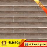 azulejo de suelo de cerámica de madera de 150X600m m (6M6508)