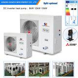 Le tchèque -25c hiver froid 100~700chaleur m² Chambre +55c l'eau chaude 12kw/19kw/35kw/70kw Evi plancher de la chambre de pompe à chaleur de l'équipement de chauffage