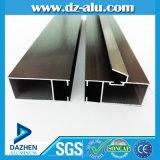 Perfil de aluminio 6063 T5 para el final del molino del marco de la ventana de Tanzania