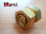 Tubo recto de Fittingsfor de la unión de la compresión de cobre amarillo de Dzr
