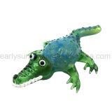 Grünes Krokodil-Glashandrohr für Tabak-en gros rauchen (ES-HP-109)