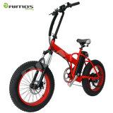 20*4.0 bici eléctrica de la suciedad de la bici del neumático gordo de la nieve de la playa de la pulgada 500W