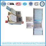 Счетчик воды подачи карточки IC франтовской предоплащенный с латунным телом