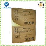 Kundengerechte gedruckte Packpapier-Aufkleber (JP-s058)