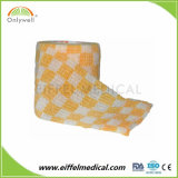 印刷便利な使用の獣医の覆いのFDA/ISO/のセリウムのための非編まれた自己接着OEMの凝集の包帯