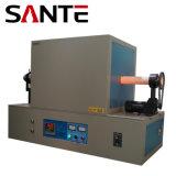 tipo horno de la diapositiva 1400c de resistencia rotatorio del tubo