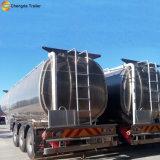 De Aanhangwagens van de Tanker van de Brandstof van het Staal van het aluminium voorzien Semi Aanhangwagen van brandstof